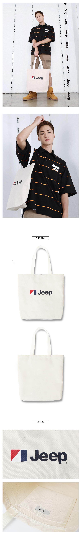 지프(JEEP) LOGO Eco Bag (GK0GAU511IV)